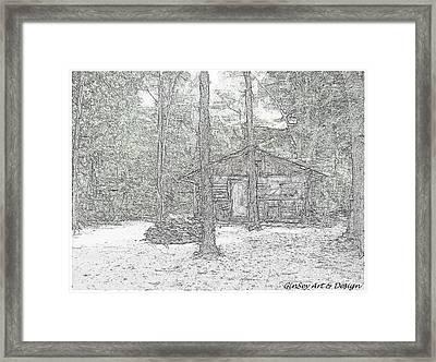 Appalachian Cabin Framed Print