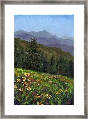 Appalachian Color Framed Print by Jeff Pittman