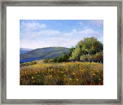 Appalachian Field Framed Print