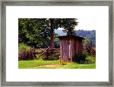 Appalachian Hill-ton Framed Print