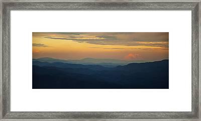 Appalachian Sky Framed Print
