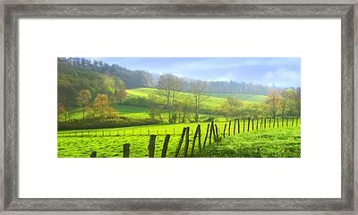 Appalachian Spring Morning Framed Print by Francesa Miller