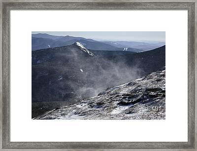 Appalachian Trail - Franconia Ridge-white Mountains New Hampshire Framed Print by Erin Paul Donovan