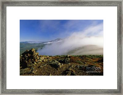 Appalachian Trail - White Mountains New Hampshire Usa Framed Print