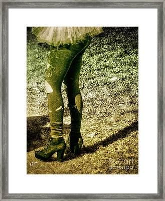 Appalachian Tutu  Framed Print by Steven Digman