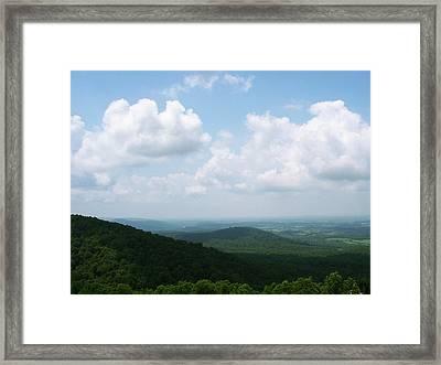 Appalachian Valley - 8 Framed Print