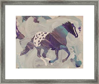 Appaloosa Dreams Framed Print