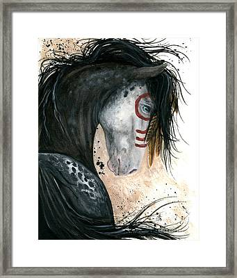 Appalossa Horse Framed Print by AmyLyn Bihrle
