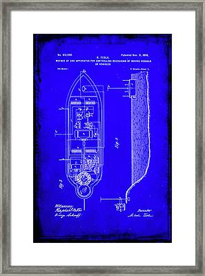 Apparatus For Controlling Moving Vessels Patent Drawing 2a Framed Print
