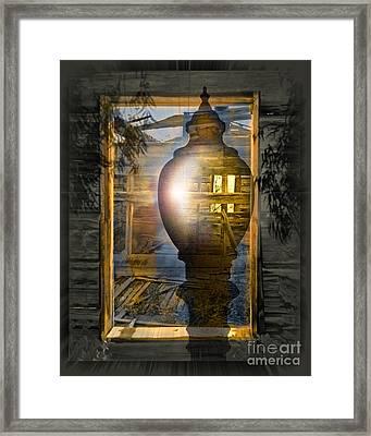 Apparition Framed Print by Chuck Brittenham
