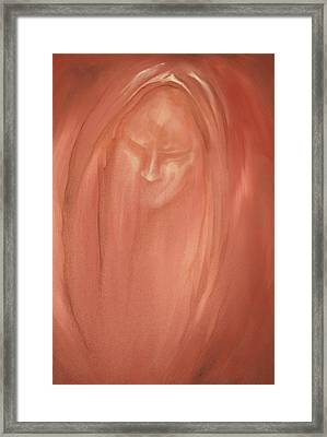 Framed Print featuring the painting Apparition by Keith A Link