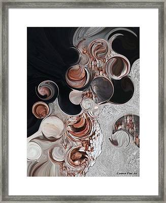 Apparition Of Degenerated Vision Framed Print