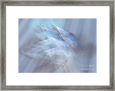 Apparitions Rising Framed Print by Jan Tyler