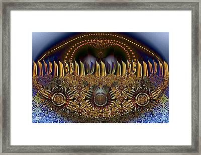 Appearing To Care Framed Print by Jim Pavelle