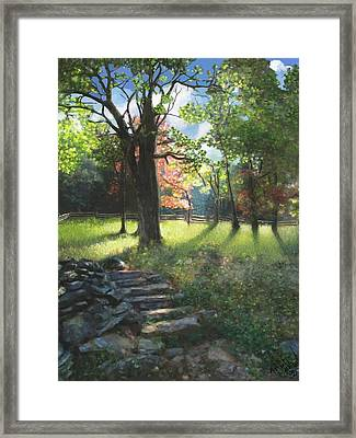 Applaclacian Spring Framed Print