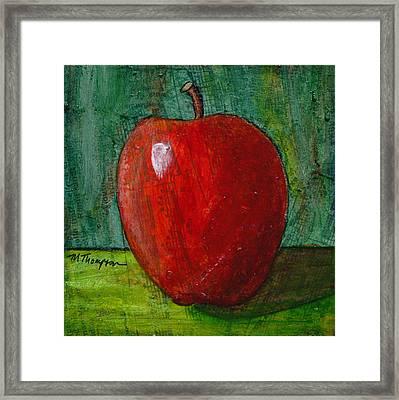 Apple #4 Framed Print