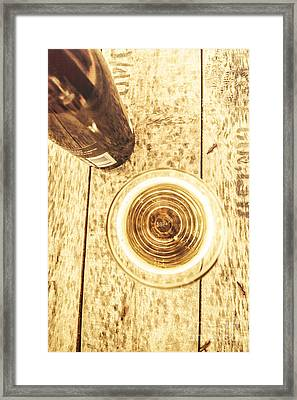 Apple Cider Ale Framed Print by Jorgo Photography - Wall Art Gallery