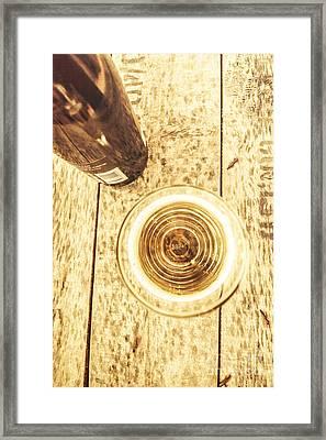 Apple Cider Ale Framed Print