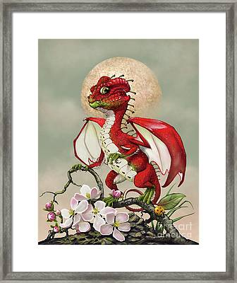 Apple Dragon Framed Print