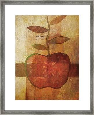 Apple Fineart Framed Print by Lutz Baar
