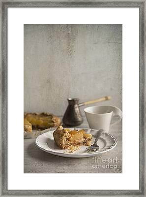 Apple Galette Framed Print by Elena Nosyreva