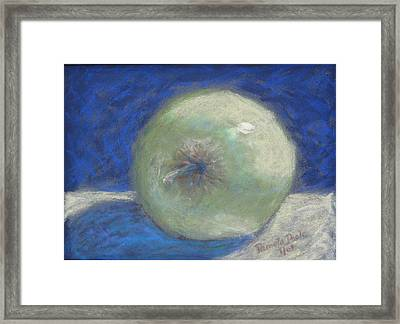 Apple Impressions Framed Print