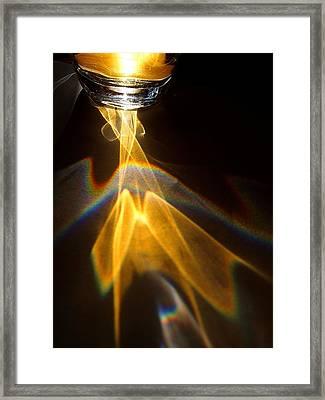 Apple Juice Framed Print