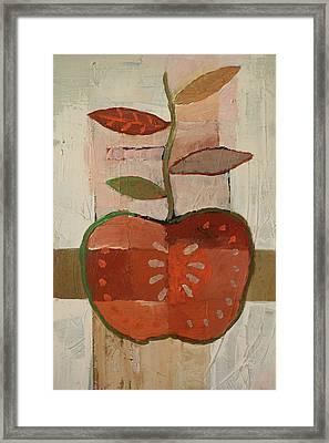 Apple Framed Print by Lutz Baar