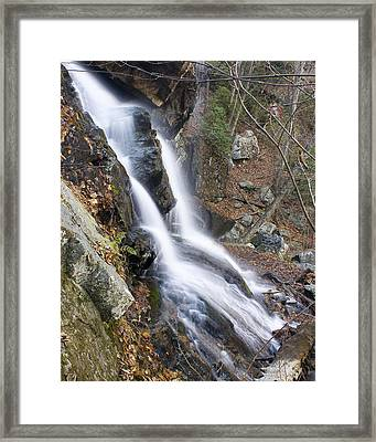 Framed Print featuring the photograph Apple Orchard Falls by Alan Raasch