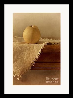 Wooden Table Framed Prints