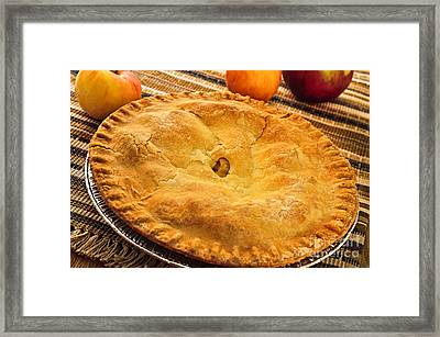 Apple Pie Framed Print