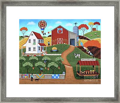 Apple Pie In The Sky Framed Print