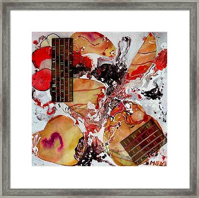 Apple Research Framed Print by Evguenia Men