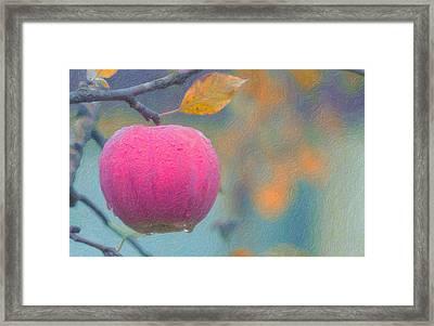 Apple Tears  Framed Print by Asar Studios