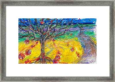 Apple Tree Framed Print by Laurie Parker
