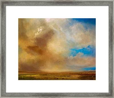 Apple Valley Framed Print