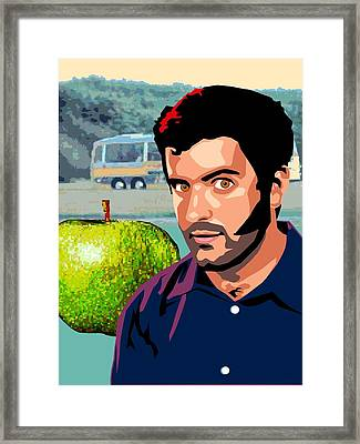 Apple Zac Framed Print