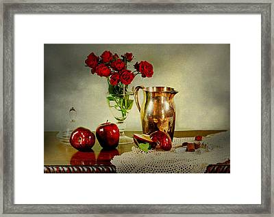 Apples And? Framed Print