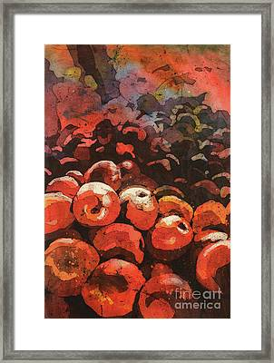 Apples Galore Framed Print by Ryan Fox