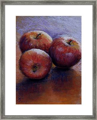 Apples IIi Framed Print by Susan Jenkins