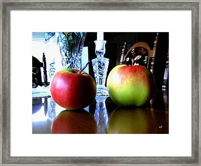 Apples Still Life Framed Print by Will Borden