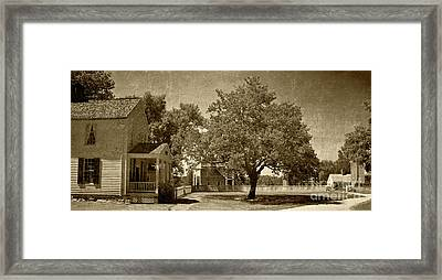 Framed Print featuring the photograph Appomattox by Pete Hellmann