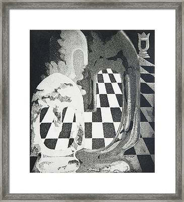 Approach Of The White Queen Framed Print by Marian Fox
