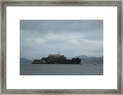 Approaching Alcatraz Framed Print