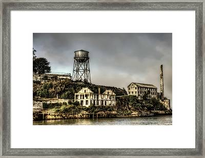 Approaching Alcatraz Island #2 Framed Print by Jennifer Rondinelli Reilly - Fine Art Photography