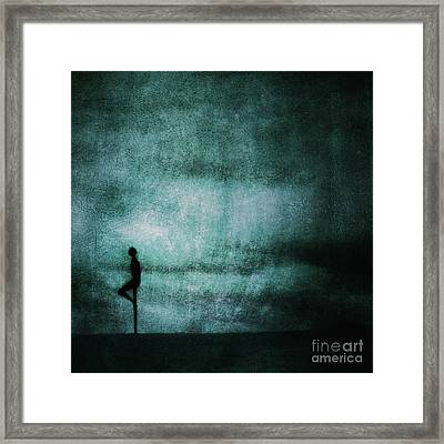 Approaching Dark Framed Print by Andrew Paranavitana