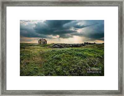 Approaching Forces Framed Print
