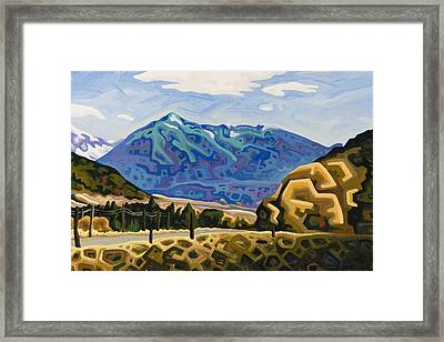 Approaching Garrison Junction Framed Print by Dale Beckman