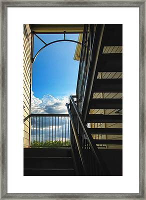 Approaching Paradise Framed Print by Wendy J St Christopher