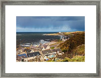 Approaching Rain Framed Print